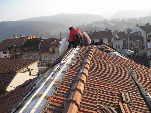 пренареждане на покрива